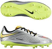 Детские футбольные бутсы Nike JR Hypervenom Phelon PREM FG
