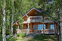 Деревянный дом под ключ, 100кв.м.