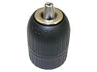 Патрон для дрели WERK 1/2 до 13мм быстрозажимной, пластиковый