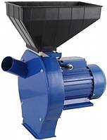 Кормоизмельчитель Млин Ок Млин 3, мощность 2,5 кВт, тихая работа, 4 сита,  2800 об/мин, вес 23,4 кг