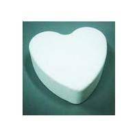Заготовка для декорирования пенопласт Сердце плоское 14*4 BOVELACCI BV-000002023