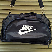 Сумка дорожная, спортивная Nike, Найк темно-синяя (45*26) ( код: IBS057sZ )