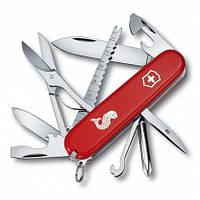 Нож швейцарский Victorinox Swiss Army Fisherman красный, фото 1