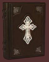 Православный молитвослов с крестом в филиграни