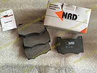 Колодки тормозные передние Москвич (М-412, 2140) NRD № 392