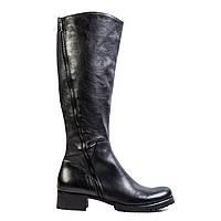 Сапоги женские кожаные Venezia 310-53 черн.