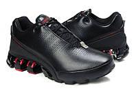 Кроссовки мужские Adidas Porsche Design P'5000 черно-красный / кожаные / весна-осень