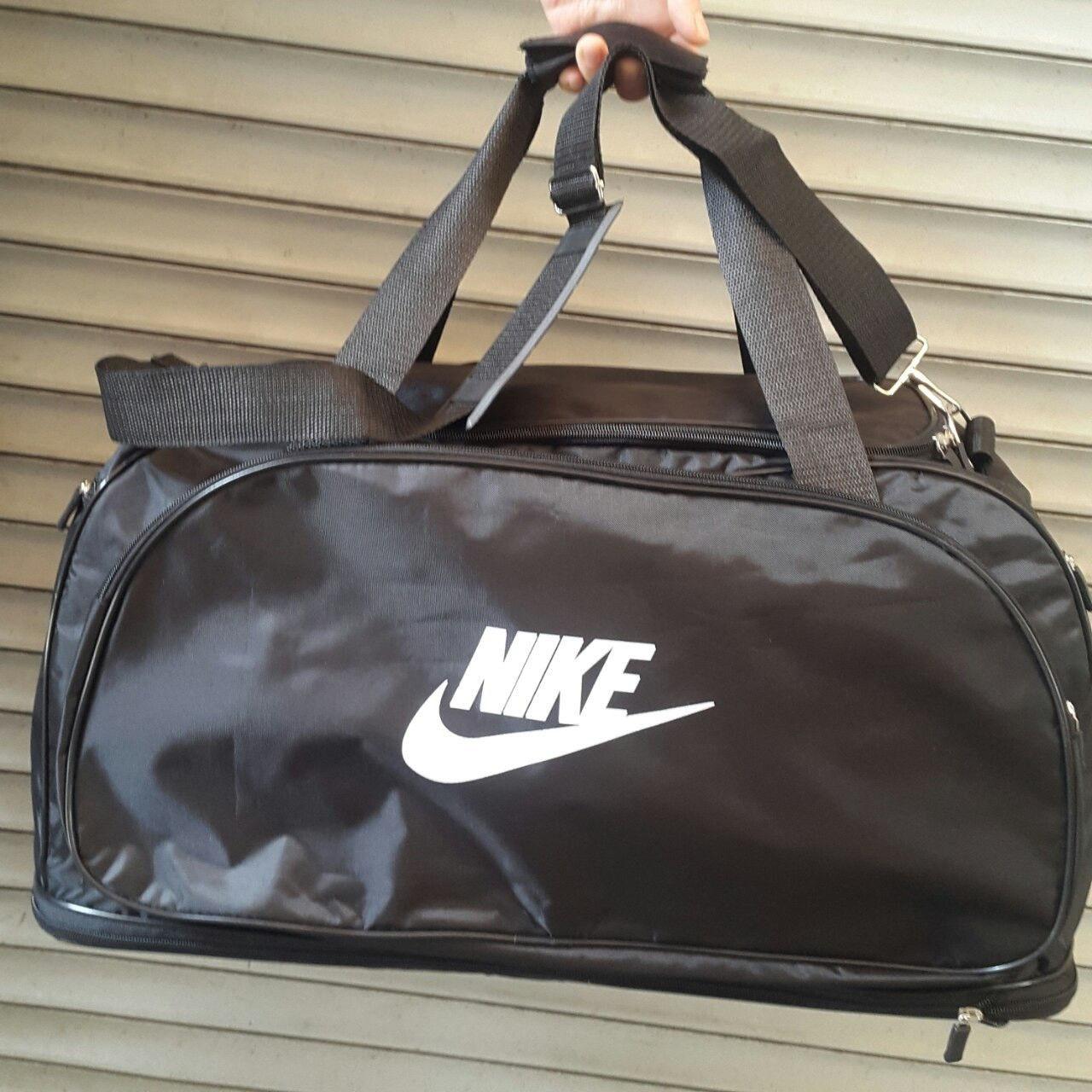 9fa8c425ce07e Сумка дорожная, спортивная Nike, Найк чёрная (45*26): продажа, цена ...