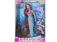 Кукла DEFA 31 см 8230 русалка (музыка, свет)