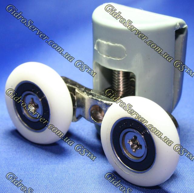 Ролик на душевую кабину и гидромассажный бокс верхний с двумя колесиками.
