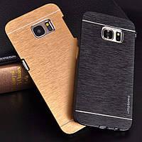 Чехол для Samsung Galaxy S7 Edge G935 motomo металлический, фото 1