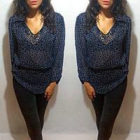 Блузка с поясом разные цвета