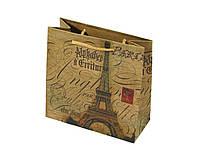 Подарочный пакет чашка (крафт)