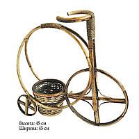 Декоративный велосипед из бамбука (45х45 см)