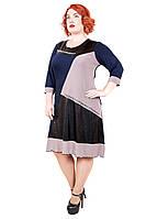 Платье- туника большого размера Венеция  (54-56), фото 1
