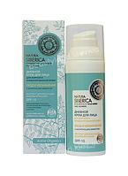 Дневной крем для лица для жирной и комбинированной кожи Natura Siberica с матирующим эффектом SPF-15,50 мл