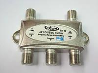 Коммутатор DISEqC 4x1 внутренний SatCom SD-42