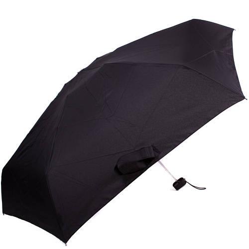 Зонт мужской облегченный компактный механический ZEST (ЗЕСТ) Z25510 черный, антиветер