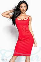 Красное платье до колен оптом, фото 1
