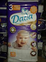 НОВИНКА Подгузники Dada Premium 3 (4-9 кг) - 60шт. Dada 3 размер