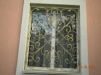 Кованая решетка оконная арт.кр 10, фото 1
