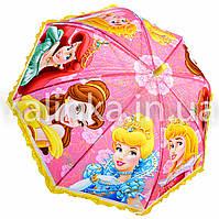 Зонт детский Принцессы-3 рюша
