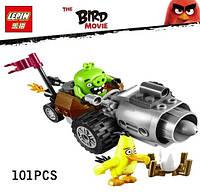 Конструктор Lepin серия Angry Bird 19001 Побег из машины свинок (Аналог Lego Angry Birds 75821)