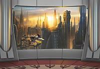 Фотообои на плотной полуглянцевой бумаге для стен 368*254 см из 8 листов: Детские, Звездные войны