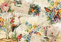 Фотообои на плотной полуглянцевой бумаге для стен 368*254 см из 8 листов: Абстракция, Воспоминания