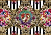 Фотообои на плотной полуглянцевой бумаге для стен 368*254 см из 8 листов: Цветы, МеллиМелло Верона