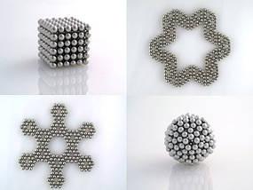 Оригинальный подарок неокуб 216 шариков по 5 мм в коробочке, фото 3