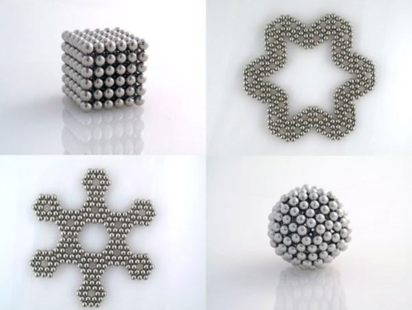 Магнитные шарики 216 шариков по 5 мм в коробочке, фото 4