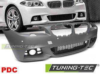 Передний бампер тюнинг обвес BMW F10 F11 стиль M Sport Paket рестайл