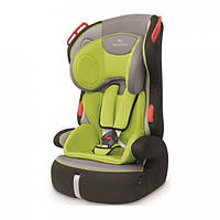 Автокресло Baby Shield Penguin Plus Grey lime( 9кг до 36кг)