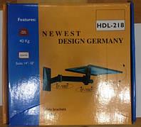 Крепеж настенный для телевизора HDL 218