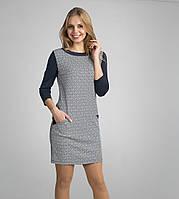 Стильное женское платье из французского трикотажа
