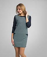 Симпатичное женское платье из французского трикотажа