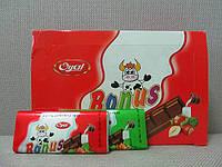 """Шоколадная плитка """"Bonus"""" 20 гр, 48 шт/уп"""