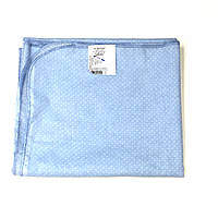 Пелюшка ситцева (блакитна в білий горошок)