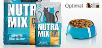 Корм для кошек Nutra Mix Cet (Нутра Микс Кет) Optimal курица рис морепродукты, 300 г