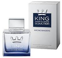 Antonio Banderas KING of Seduction Men EDT 100 ml  туалетная вода мужская (оригинал подлинник  Испания)