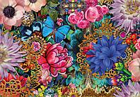 Фотообои на плотной полуглянцевой бумаге для стен 368*254 см из 8 листов: Цветы, Яркие цветы
