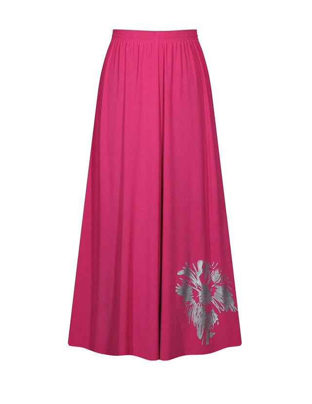 - юбка солнце с поясом - цвет малина - teens.ua