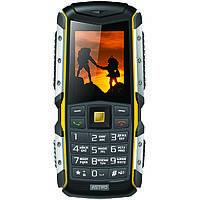 Защищённый телефон  ASTRO A200 RX Black-Yellow ip67