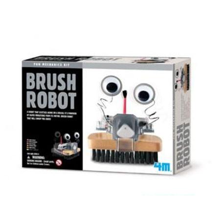 Конструктор 4M «Робот щетка» (03282)