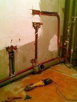 Замена труб отопления и водоснабжения