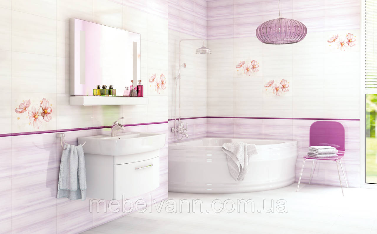 Плитка в ванную Melissa Cersanit Мелисса Церсанит