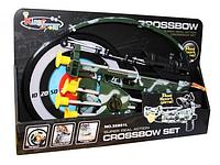 Детский арбалет 35881L с мишенью и стрелами-присосками КК