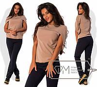 Женский модный костюм,модель № : 7387,размеры  S, M, L
