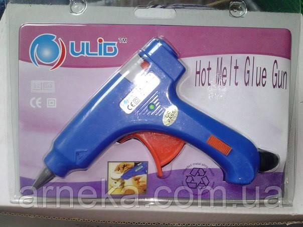 Клеевой пистолет 20 ватт, (стержень 7 мм)